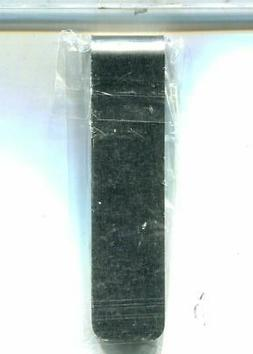 MONEY CLIP STAINLESS STEEL 3 3/4 INCHES LONG
