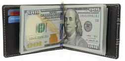 money clip wallet bifold slim minimalist rfid