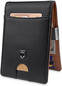 """TRAVANDO Money Clip Wallet""""RIO"""" Mens Wallet Front Pocket Wal"""