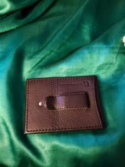 Alpine Swiss money clip wallet