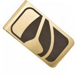 New NIXON BADGE MONEY CLIP in Gold Surf Skate Unisex One Siz