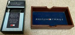 NEW TOMMY HILFIGER BLACK MAGNETIC MONEY CLIP - FREE SHIPPING
