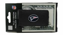 New NFL® New England Patriots Leather Siskiyou® Black Mone