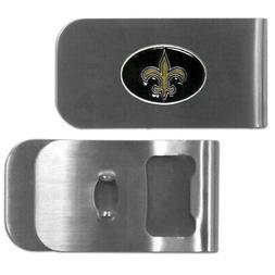 New Orleans Saints Money Clip Bottle Opener NFL New