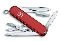 new swiss army executive pocket knife red
