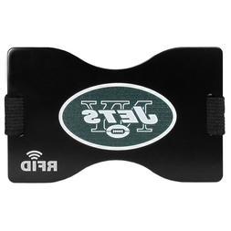 New York Jets Wallet RFID Blocking Slim Pocket Money Clip NF