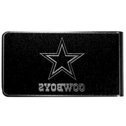 NFL Dallas Cowboys Black & Steel Money Clip