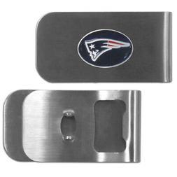 Siskiyou NFL New England Patriots Bottle Opener Money Clip