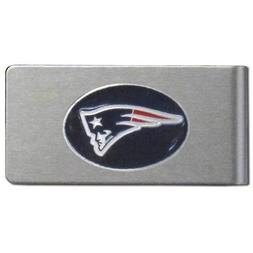 NFL New England Patriots Brushed Money Clip