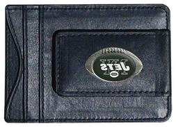 NFL New York Jets Leather Money Clip Cardholder