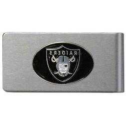 NFL Oakland Raiders Brushed Money Clip