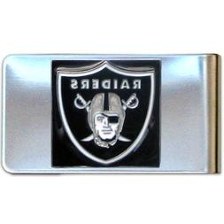 NFL Oakland Raiders Steel Money Clip
