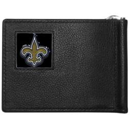 nfl orleans saints leather bill