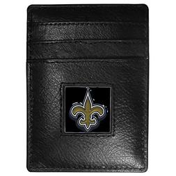 Siskiyou New Orleans Saints Leather Money Clip/Cardholder