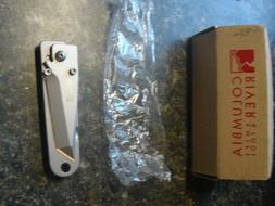 NOS COLUMBIA RIVER 7911 MONEY CLIP FOLDING TACTICAL KNIFE