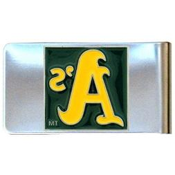 Oakland Athletics Official MLB Steel Money Clip by Siskiyou