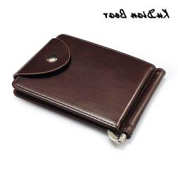 KUDIAN BEAR Rfid Men Wallet Short <font><b>Money</b></font>