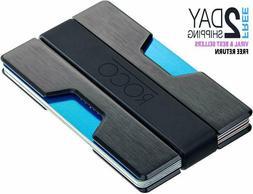 ROCO MINIMALIST Aluminum Slim Wallet RFID BLOCKING Money Cli