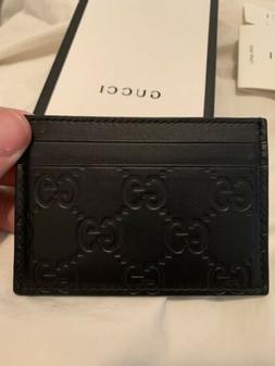 GUCCI Signature Money Clip Wallet Style 308915 CWC1N 1000