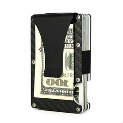 Slim Bank Debit Card Holder Money Clip Business Wallet Purse