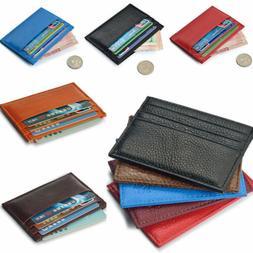 Wallet Slim Money Clip Credit Card Holder ID Business Bens G