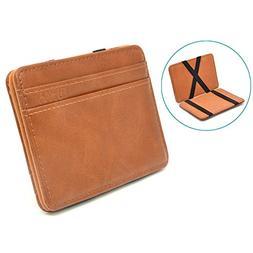 Slim Money Clip Pocket Wallet Case for Men and Women, Minima
