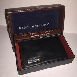 Tommy Hilfiger Slim Pocket Wallet Money Clip & Valet - FREE