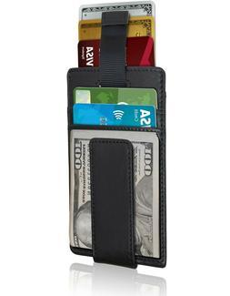 Slim Wallets For Men Magnetic Money Clip Minimalist Mens Wal