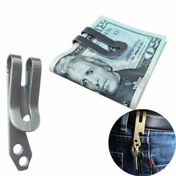 Stainless Steel Metal Money Clip Bottle Opener Key Chain Poc