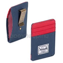 Herschel Supply Co. - RAVEN WALLET Card Holder Money Clip -