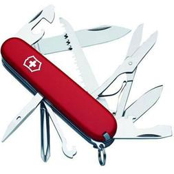 Victorinox Swiss Army Fieldmaster Pocket Knife Red 91mm