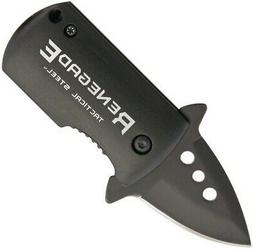 Renegade Tactical Steel Fast Clip Folding Knife