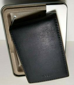 Fossil Tate Men's RFID Money Clip Bifold Genuine Leather W
