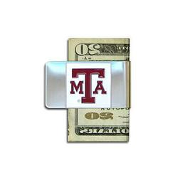 Texas A&M University Pewter Money Clip NCAA