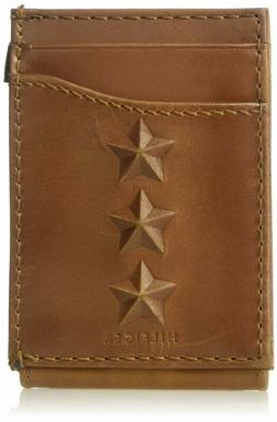 Tommy Hilfiger Mens Fashion Leather Slim Front Pocket Wallet