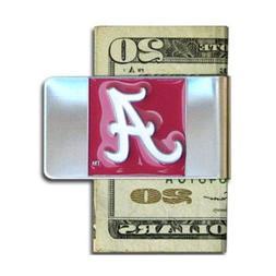 University of Alabama Pewter Money Clip NCAA