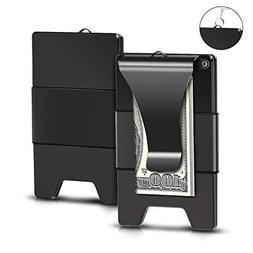Minimalist Aluminum Wallet, EliveBuy Slim Wallet & RFID Blo
