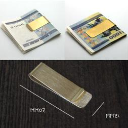 Utility Metal Money Clip 2 Color Man Clamp Holder For Money