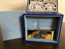 DC Comics Vintage Patriotic Superman Money Clip, Officially