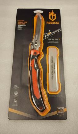 Gerber The Vital Big Game Folding Knife, Split Sec Tech #31-