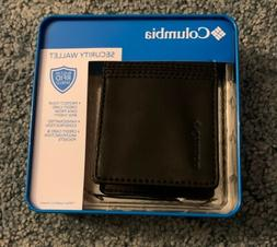 Columbia Wallet Front Pocket Money Clip Black RFID Mens 31CO