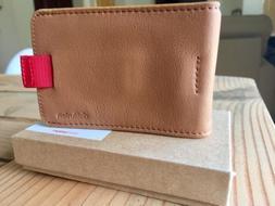 ❤ Distil Union Wally Bifold Slim Leather Wallet For Men W/