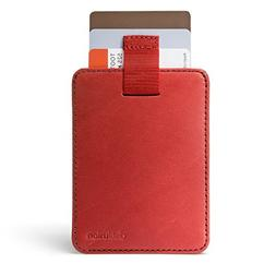 Distil Union Wally Sleeve Genuine Leather Slim Wallet & Cred