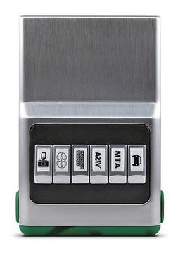 Woodland Silver Hybrid ACM Wallet Unisex - Credit Card Organ